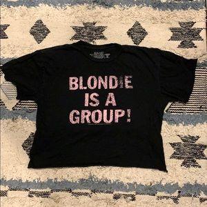 Blondie cutoff tee